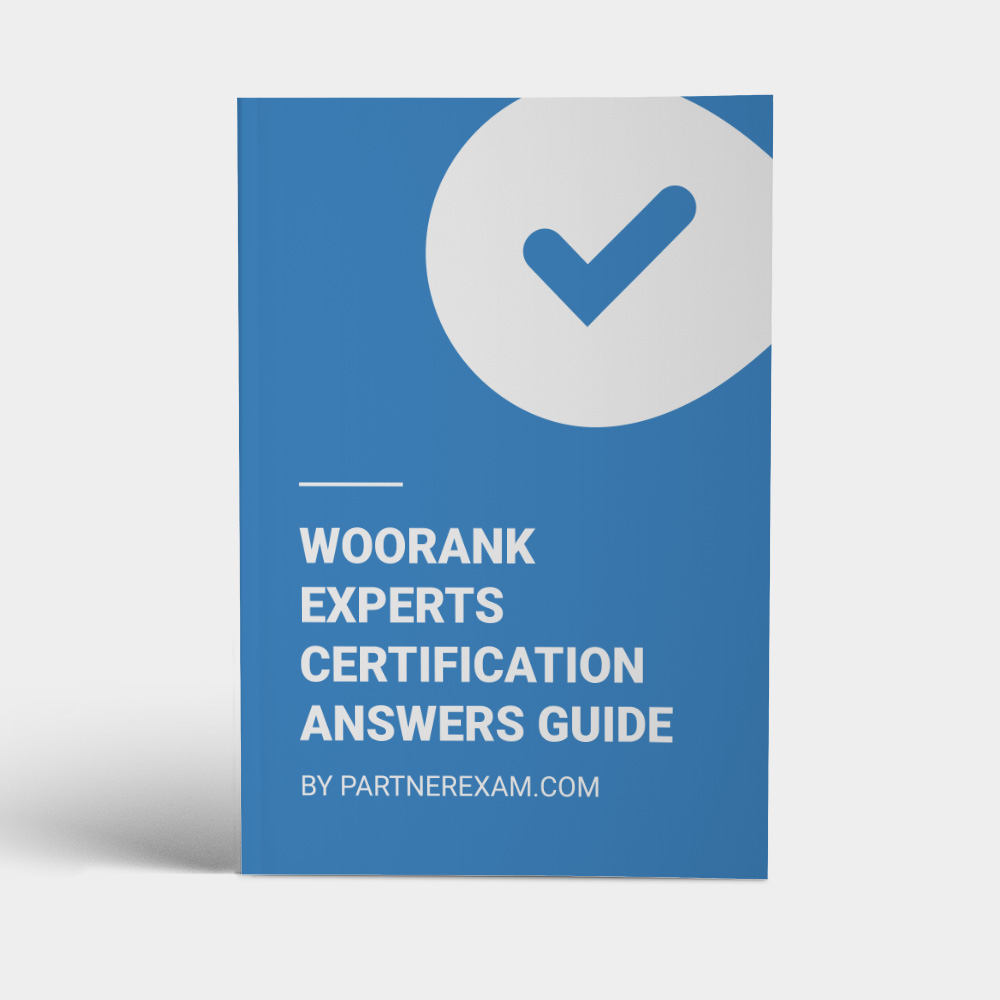 WooRank Certification Answers Guide